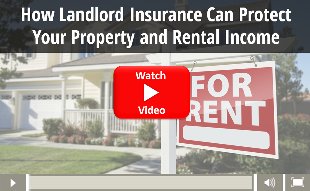 Video on how landlord insurance protects your property and rental income